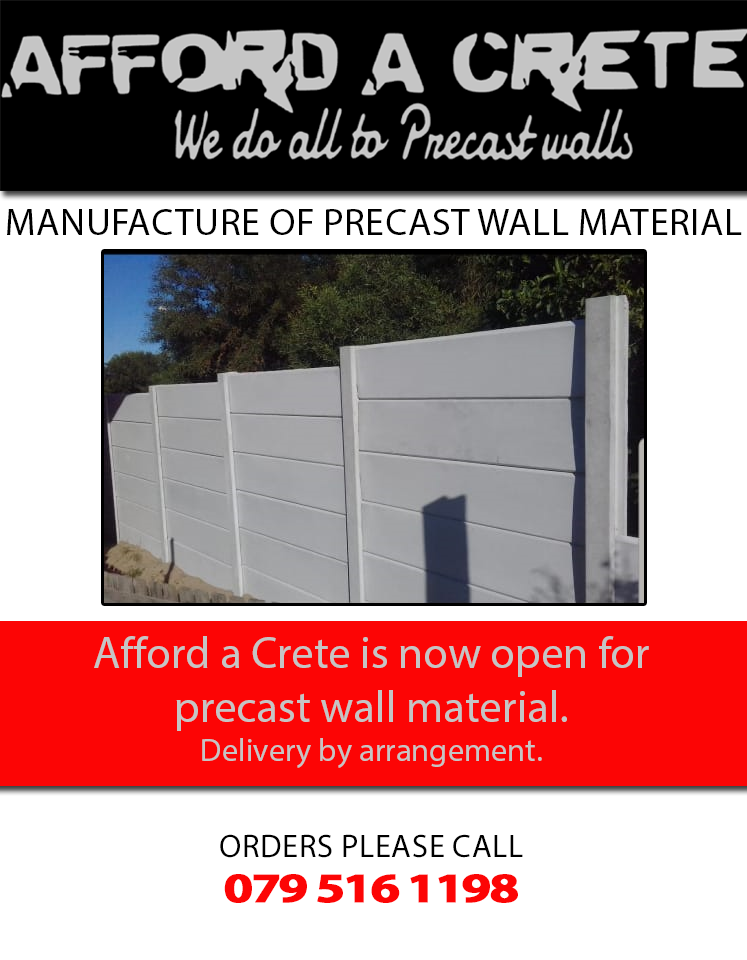 afford-a-crete manufacture precast slabs and posts